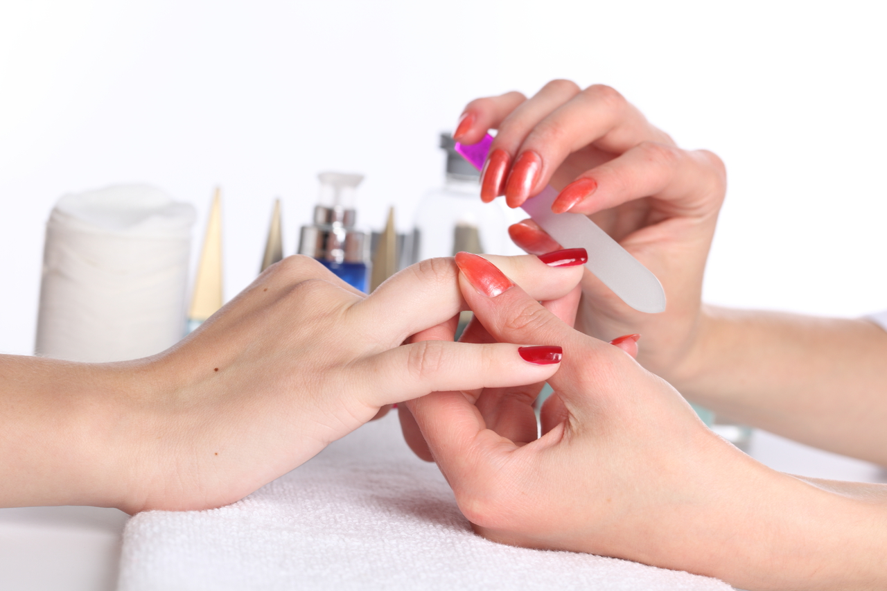 manicure application